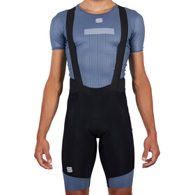 Sportful GTS Bib Shorts Heren, black blue sea